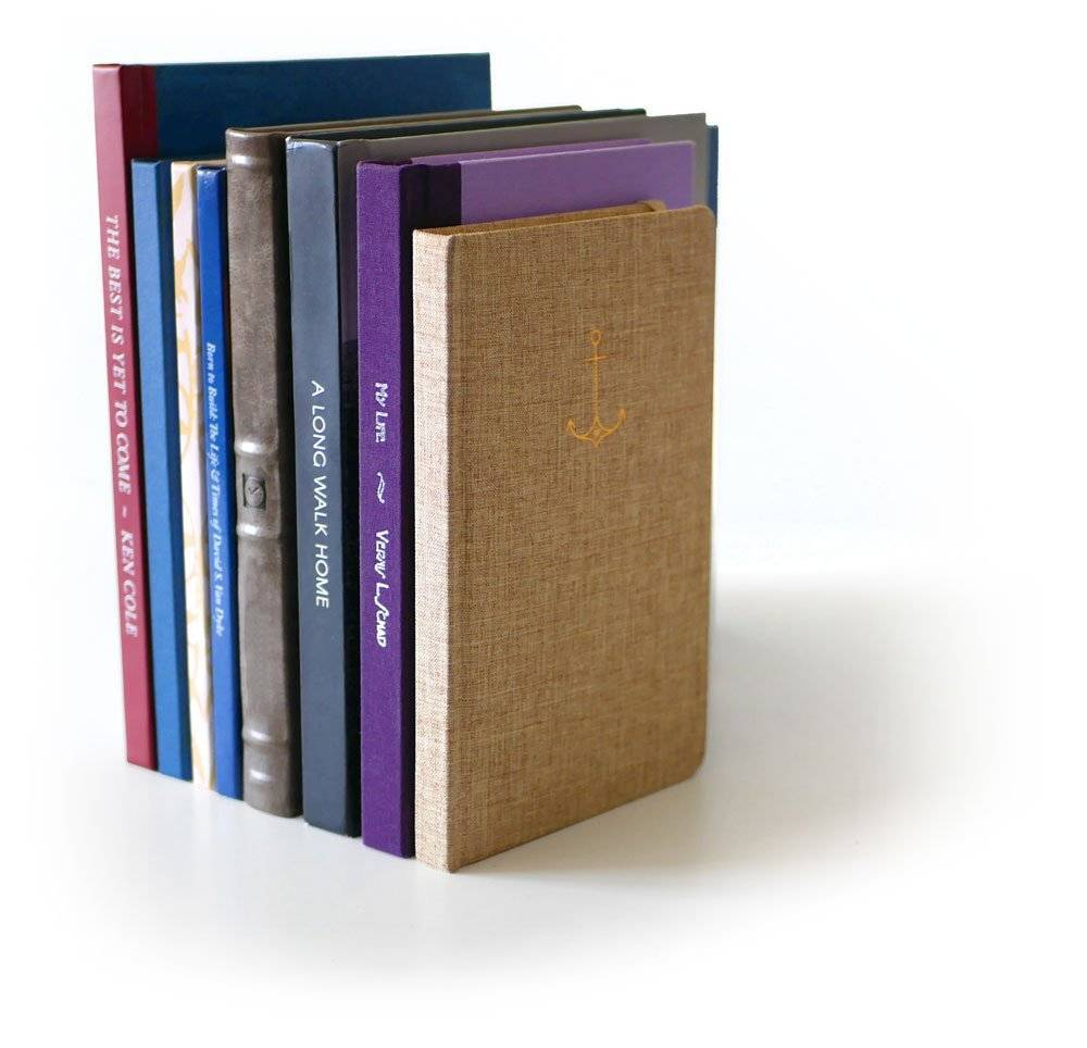 Life Story book stack