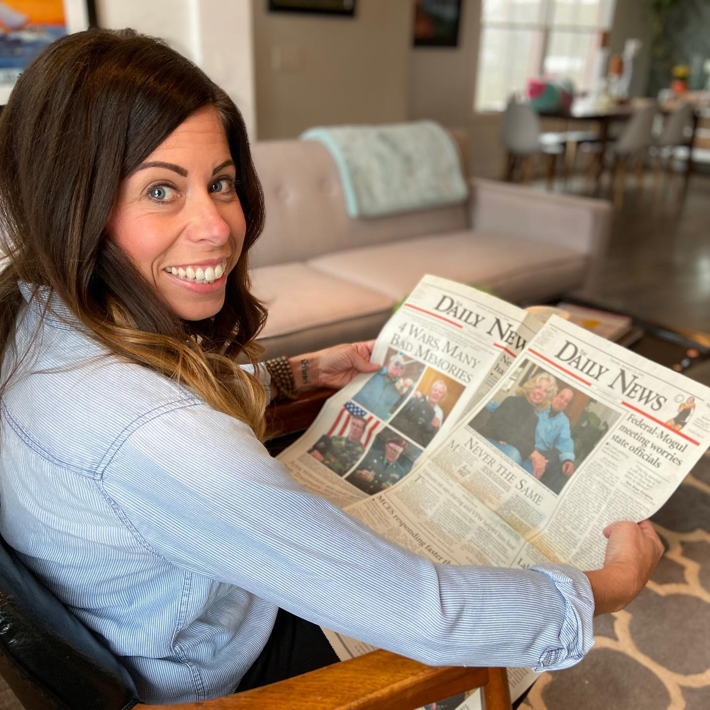 Lauren Befus, personal historian, featured in the TheDailyNews.cc